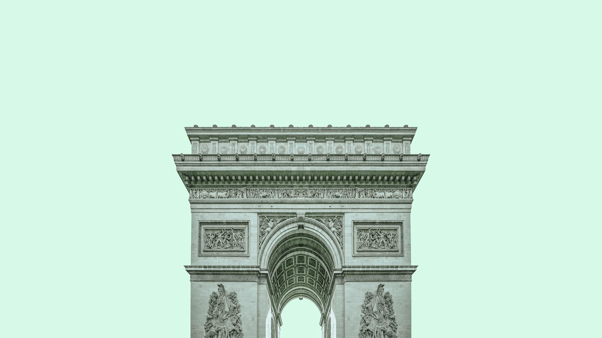 minimalPARIS - Arc de Triomphe - zaiczdomokos.com