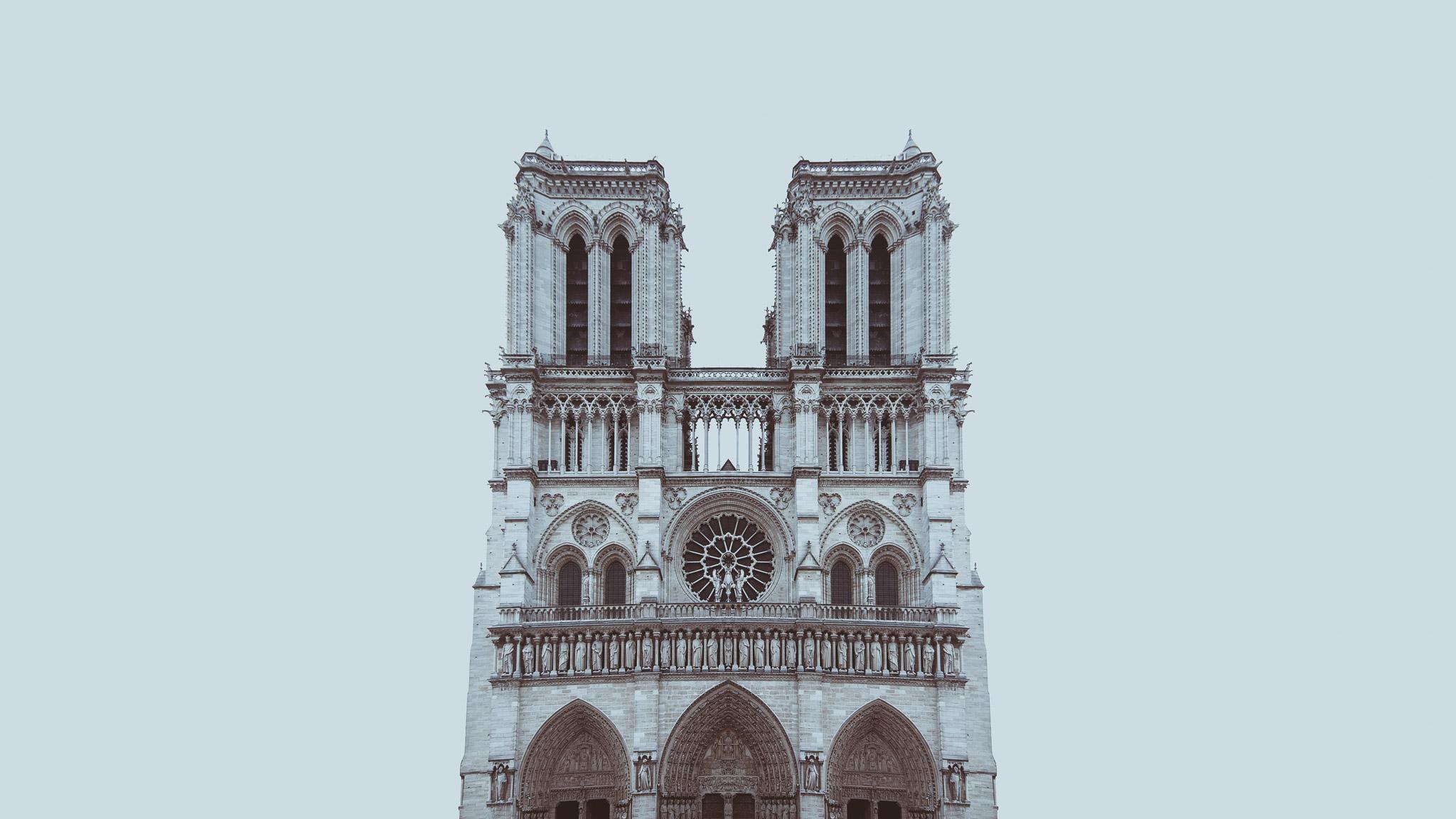 minimalPARIS - Cathédrale Notre-Dame - zaiczdomokos.com